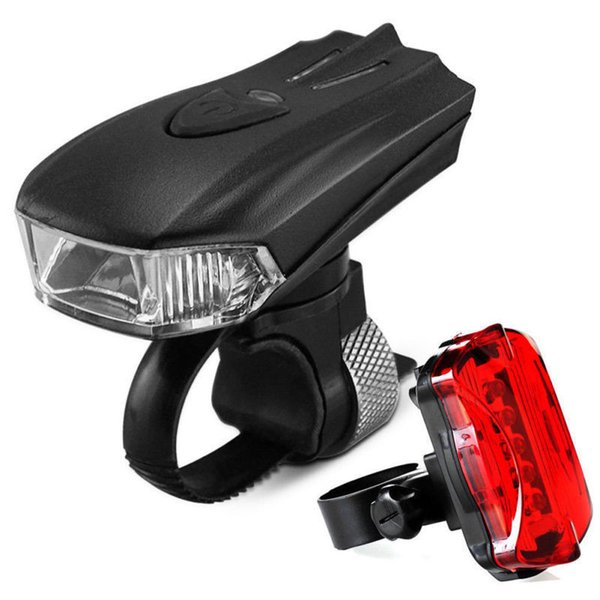 Bicycle Safety Warning Light Taillight Headlight USB Charging Waterproof Shockproof Lamp 4 Model YS-BUY