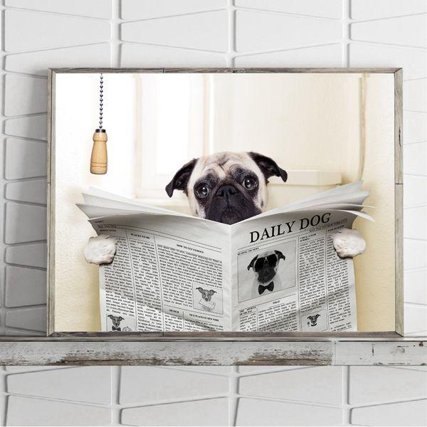 Lustig Poster Badezimmer