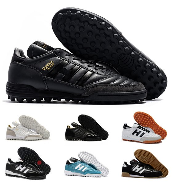 Clásicos Hombres Copa MUNDIAL META INTERIOR Equipo Astro Modern Craft TF TURF Fútbol Fútbol Zapatos Botas Scarpe Calcio Tacos baratos Tamaño 39-45