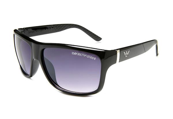 new fashion classic sunglasses attitude sunglasses gold frame cornice quadrata in metallo stile vintage design esterno modello classico 3026