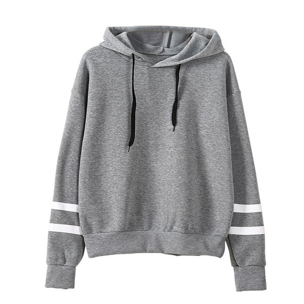 New Men's Hoodies Sweaters Striped Long Sleeve Fashion Pullover Sweatshirts Hooded Men Coats Tops Clothing S-2XL Wholesale