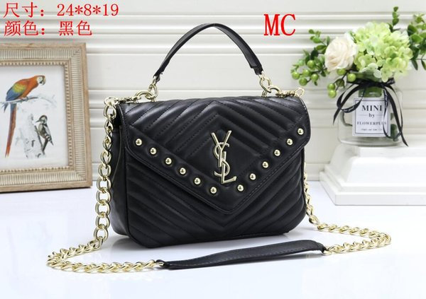 a90bb5dc0b7 126 YSL Women'S Leather Chain Bag Handbag Shoulder Bag Envelope Bag  Crossbody Bags Shopping Messenger Bags Evening Clutch Bags Wedding Chignon  Chignon ...