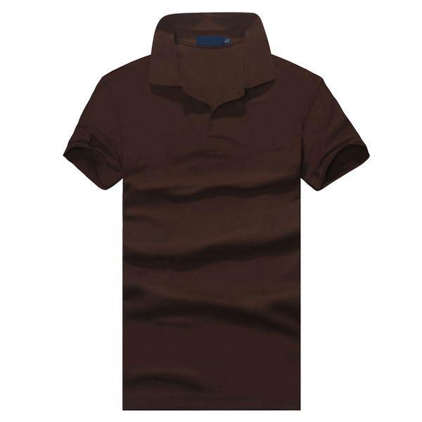 Top abbigliamento New Polo uomo Polo Small Ricamo Business Casual solido polo maschile t-shirt manica corta traspirante