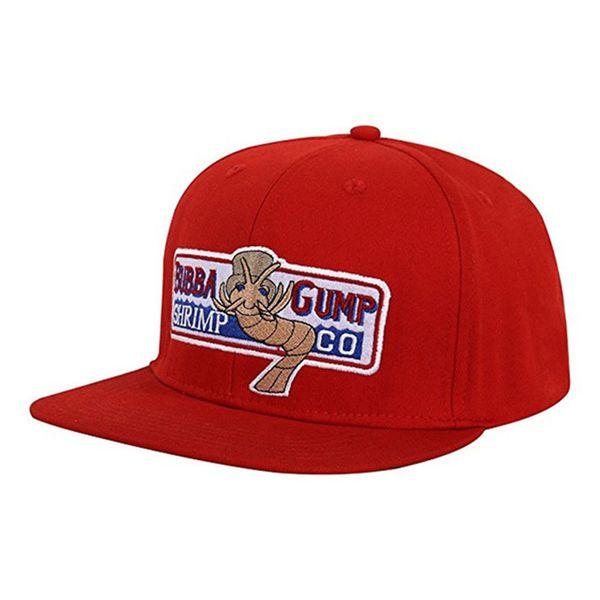 Yüksek Kalite marka 1994 Bubba Gump Karides CO. Snapback Kap Pamuk Beyzbol Şapkası Erkekler Kadınlar Için Hip Hop Baba Şapka Kemik Garros