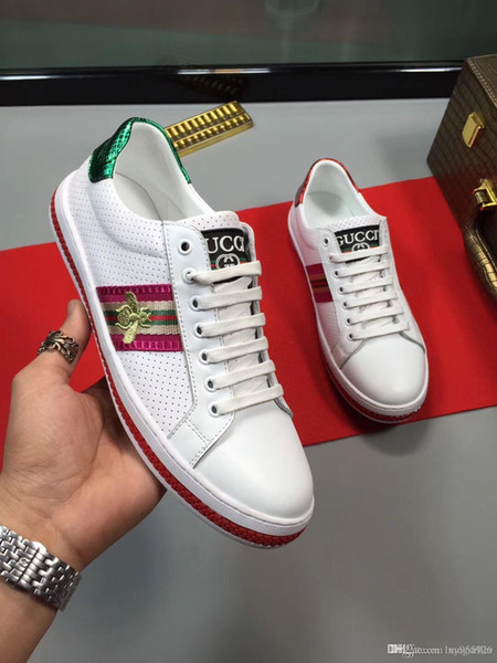 New 10embroidered men's casual shoes fashion wild sports shoes outdoor comfortable men's shoes original box packaging Zapatos Homb