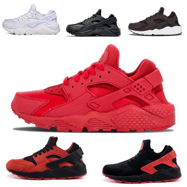 Nike air huarache Huarache 1 Ultra Casual Sapatos Para Mulheres Dos Homens Huraches Huraches Multicor Huraches Mens Sapatos Casuais Tamanho 36-45