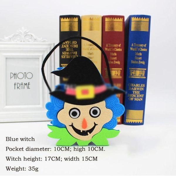 bruja azul