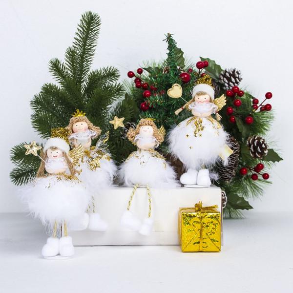 Compre Ángel De Navidad Muñeca Juguete Navidad Ornamento Colgante ...