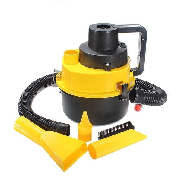 12V 75W Portable Mini Car Vacuum Cleaner Portable High-power Car Vacuum Cleaner Dry And Wet Appliance Drum