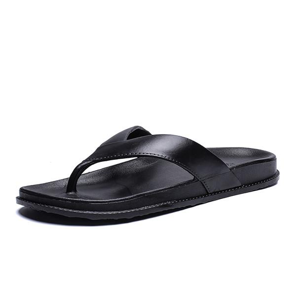 Hommes Sandales Pantoufles Été Plage Tongs Designer Mode Confortable Piscine Diapositives De Voyage En Plein Air Plage Eau Chaussures Pas Cher
