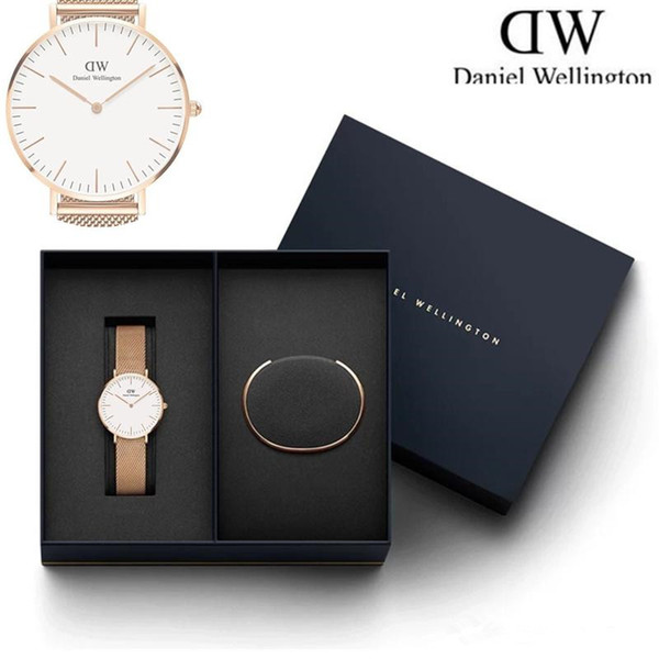 Whole ale watch new cla ic bracelet available daniel watche men and women port wri twatche reloje original box