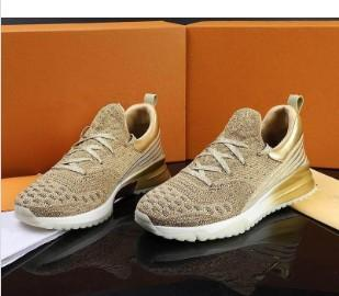 O envio de arena sapatos de luxo de couro das sapatilhas dos homens livres Kayne formadores oeste Marca das sapatilhas dos homens Men marca de moda Sapatos 35-46 104