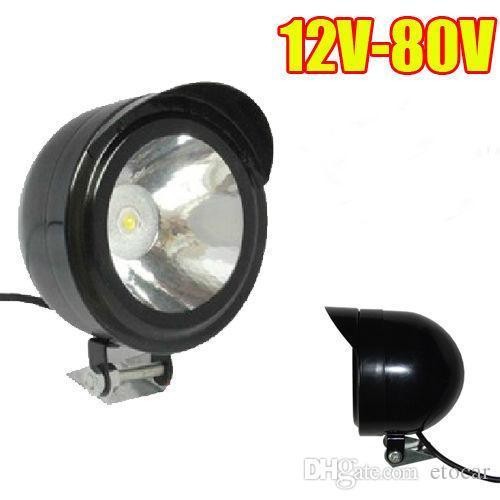 best selling 12V-80V motorcycle Bike headlight Super bright spot light Electric headlights LED lights car reversing light motorcycle modification lamp 5W
