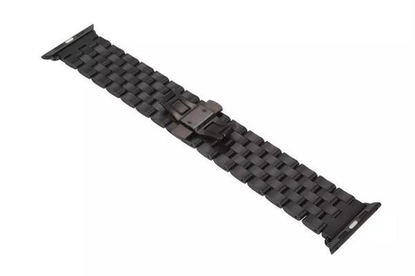 Pour Apple Watch bande 42mm Réglable Accessoires pour Hommes Femmes Durable En Acier Inoxydable pour Iwatch Band Affaires Casual Style Montre Ligne