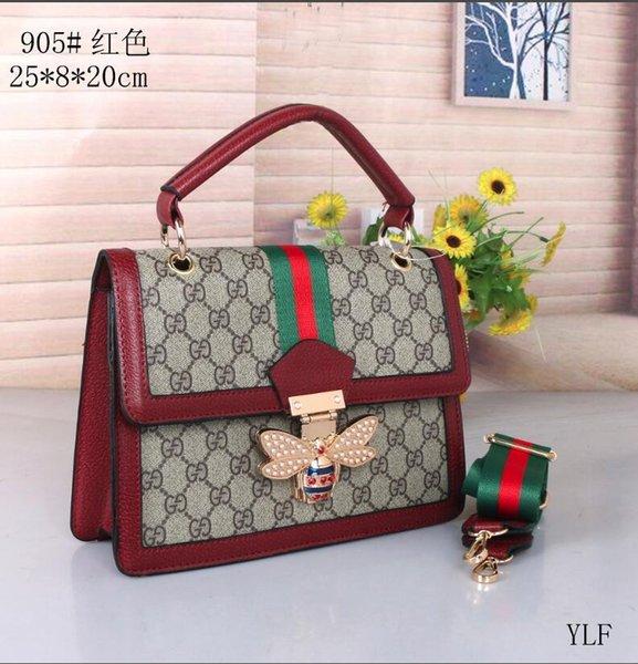 En çok satan moda bayan İtalyan markası Boston yastık çanta çanta cüzdan omuz çantası çanta Medusa torbayı 992 debriyaj
