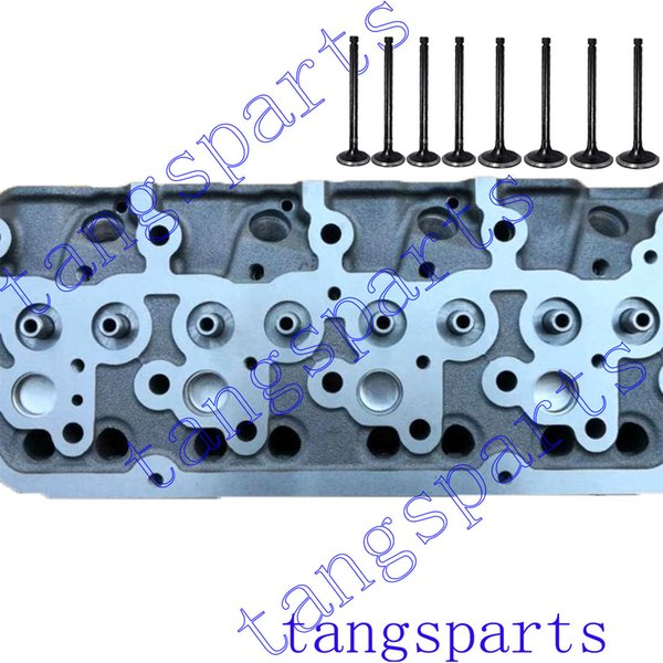 top popular New S4L Cylinder head with vavles 31A01-15011 31A01-15021 Fit Mitsubishi diesel excavator forklift dozer etc. engine parts kit 2019