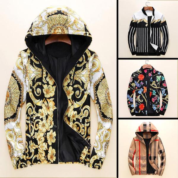 Gasoda New Fashion designer mens giacche Allentato con cerniera maschio abbigliamento di alta qualità in cotone mens BM giacche outwear taglia M-3XL