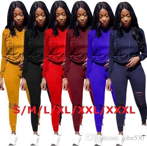 Women's Tracksuits Kenz sports burnt hooded sports suit casual 2 sets of Sweatshirt pants suit jacket solid color sportswear women&#039