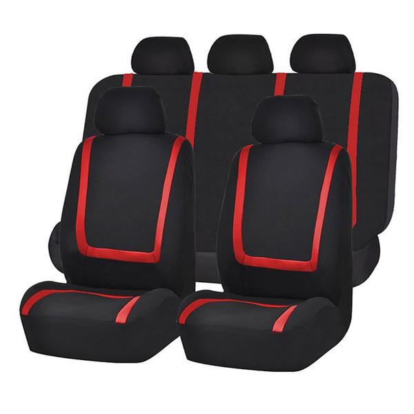 Красный + черный 9 шт