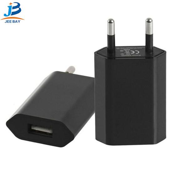 Быстрая зарядка 3.0 Европейский стандарт универсальная круглая головка мобильного телефона стандартное гнездо USB зарядное устройство Европейская зарядка разъем зарядное устройство DC 5.0V-1A