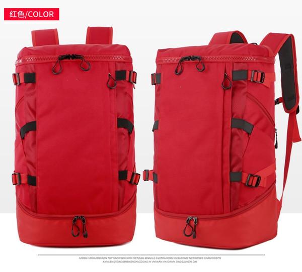 2019 New sports backpack outdoor mountaineering man woman travel bag luggage storage bag handbag Camping picnic waterproof High capacity bag