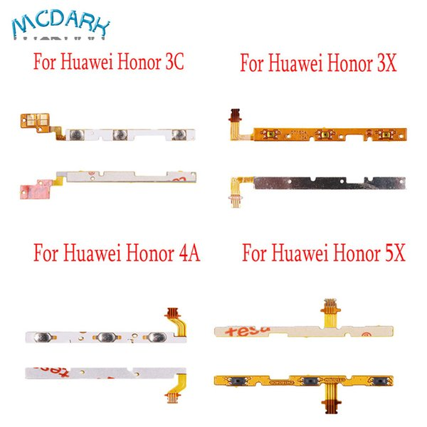 For Huawei Honor 5X 3C Power Volume Button Flex Cable Repair Parts USB Board For Huawei Honor 3X 4A Mobile Phone Accessories