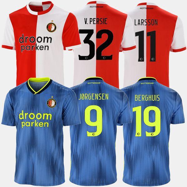 2020 Feyenoord 19 20 Soccer Jersey Home Away 2019 2020 LARSSON 32 V.PERSIE BERGHUIS 10 VILHENA JORGENSEN JERSEY ADULT SHIRT From Soccerlead, $14.73 |