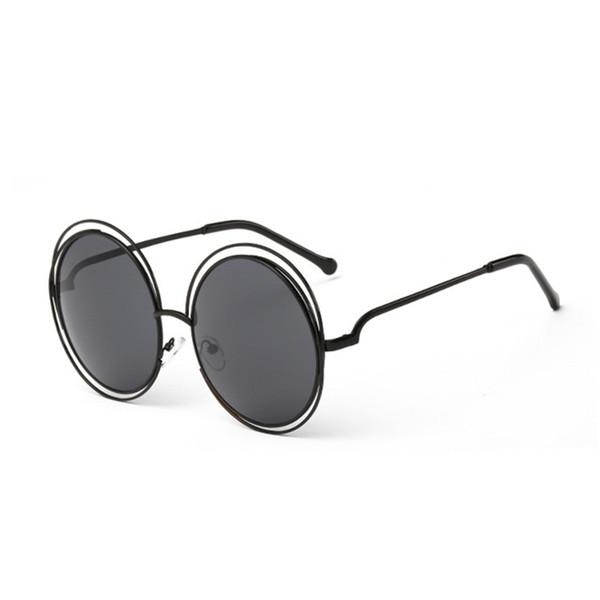 Popular Round Sunglasses Retro Full Frame Eyewear Good Quality Uv Protection Shades Glasses Fashion Women Men Sunglasses