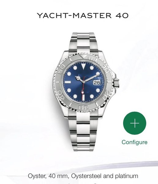 Alta Qualidade Men Watch cerâmica 40 milímetros moldura Stanless Aço Ásia 2813 Automatic empresariais de alta qualidade Casual Mens Relógios de pulso