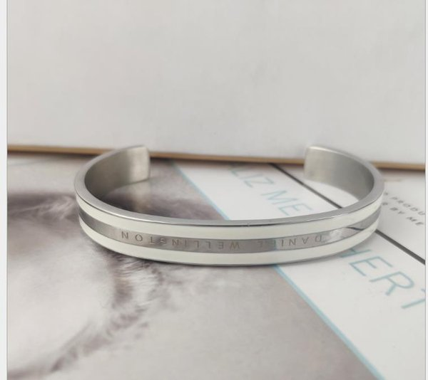 New style female fashion individuality Silver White Bracelet Seiko high quality silver white Bracelet