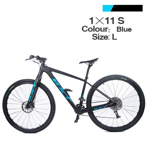 blue bike L