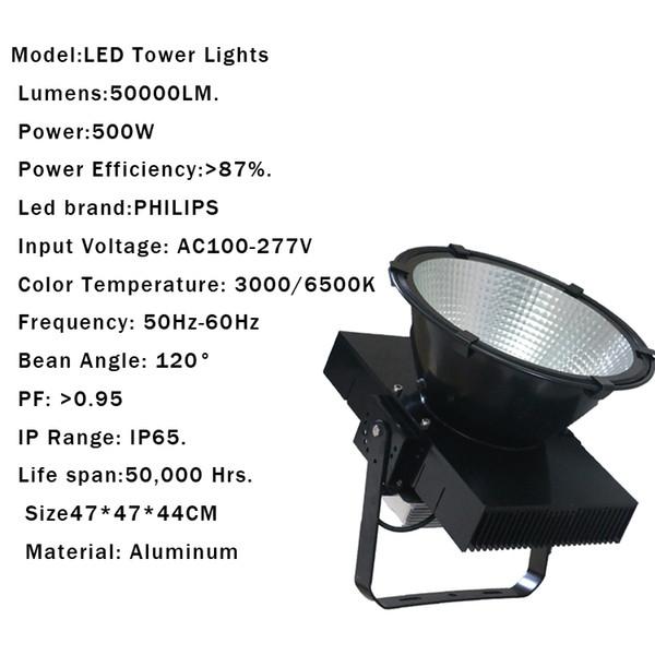 500W IP65 AC85-265V