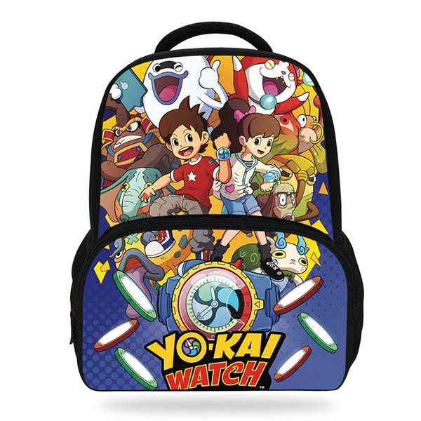 Acheter Enfants Anime Yo Kai Montre Sac à Dos Garçons Filles Dessin Animé Joli Jardin Sac à Dos Enfants Sacs Décole Bookbag Rose Sacs à Dos De 3039
