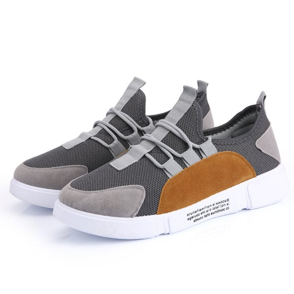 Autumn youth fashion sneakers hip-hop dance leisure mesh breathable tidal shoes Korean version of low-rise