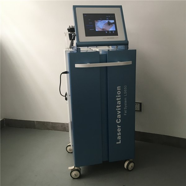 High quality Clinic use strong energy rf ultrasonic vacuum cavitation non invasive lipo laser machine / lipo laser lipolysis slimming device