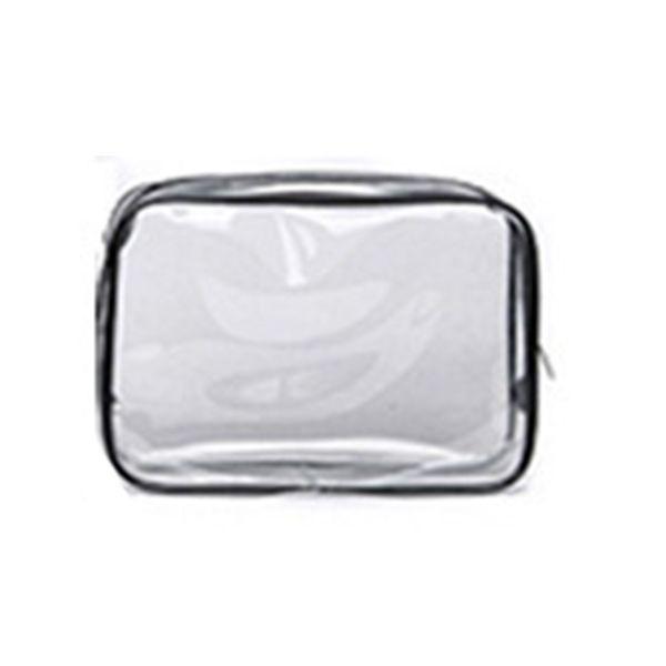 1pc Women's Transparent Cosmetic Bag Large Capacity Waterproof Makeup Bag Travel Toiletry Storage Organizer Bath Wash Tote