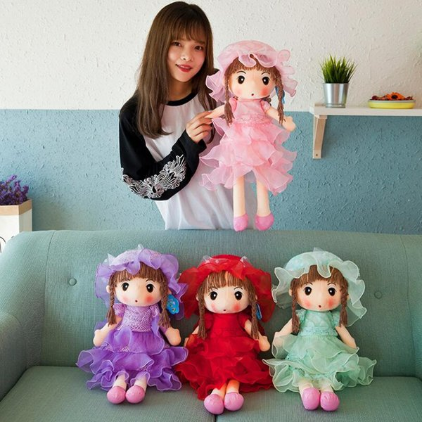 27# New sweetheart feier doll plush toy doll to send girlfriend children birthday gift sleeping pillow wholesale and retail 50 cm