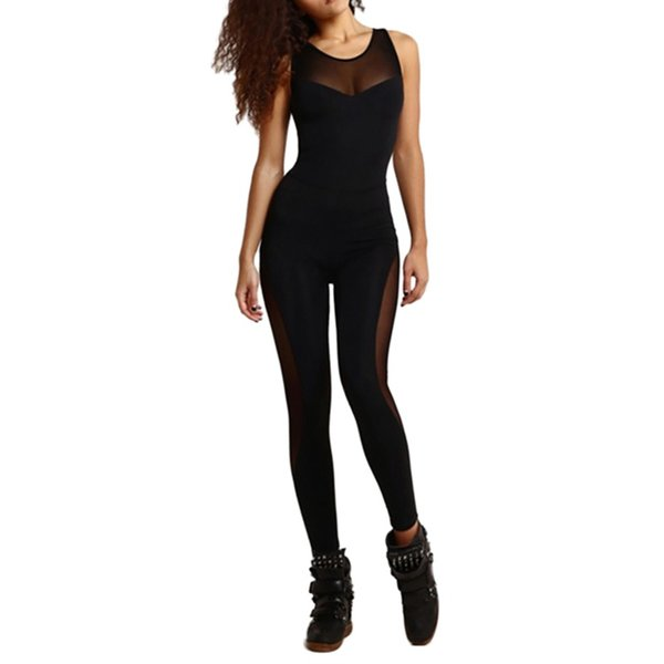 Esporte das mulheres Terno Terno Conjunto de Fitness Backless Yoga Ginásio Execução Set Sportswear Leggings Apertado Ternos Sportswear Treino 2019 # 591469