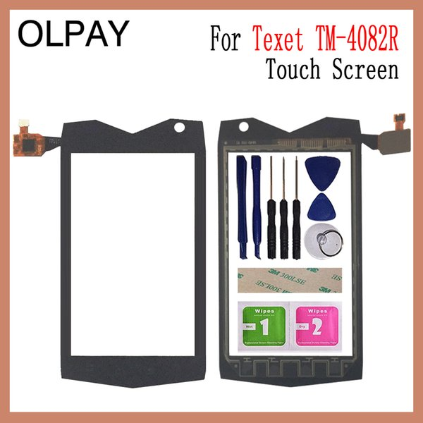 OLPAY 4.0'' Touch Screen Digitizer For Texet TM-4082R TM-4104R X-driver Touch Glass Sensor Tools Free Adhesive And Wipes