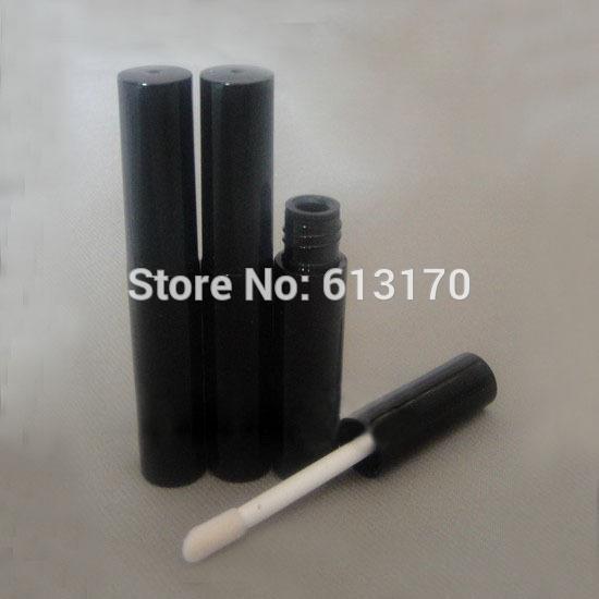 Nuovo arrivo 4ml Lip gloss tubi Nero vuoto revitalash Bottiglie di ciglio Lip Oil Pen fai da te trucco contenitore di imballaggio cosmetico