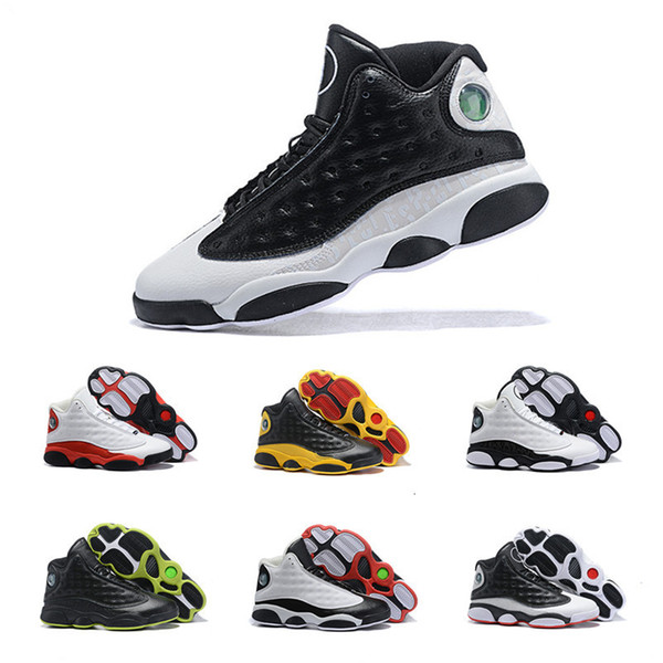 2019 jumpman xiii 13 mens basketball shoes for black yellow red white chaussures sports sneakers classic trainers 7-12