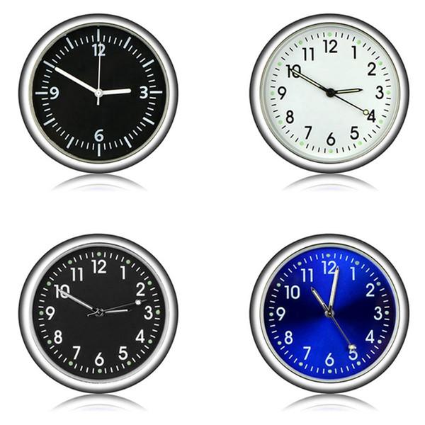 Auto Ornament Automotive Uhr Auto Uhr Automobile Innendekoration Stick-On Clock Ornamente Zubehör Weihnachtsgeschenke