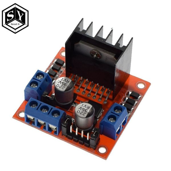 Freeshipping 10PCS New Dual H Bridge DC Stepper Motor Drive Controller Board Module L298N for