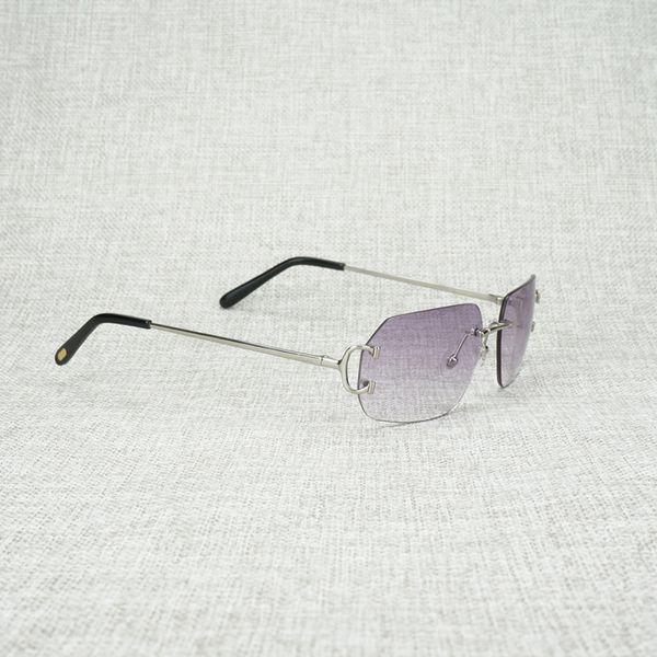 silver frame purple