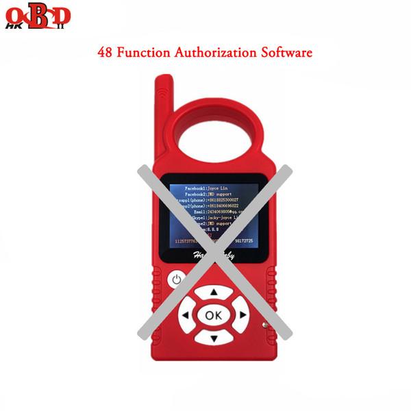Software de autorización de funciones de copia de chip G y 48 para el programador de teclas Handy Baby CBAY sin asistente JMD