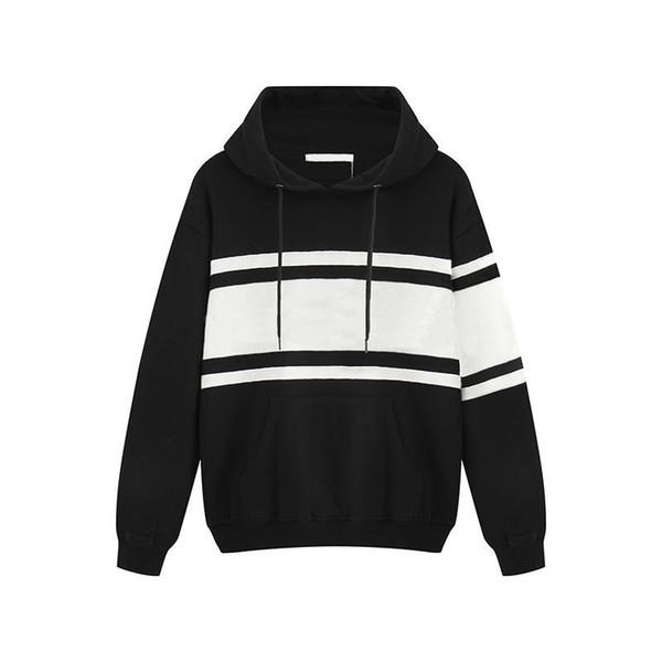 tasarımcı erkekler yepyeni 2019 lüks moda gündelik basit kadın erkeklere şapka marka tasarım serin sonbahar kış hooie siyah kapüşon kapüşon