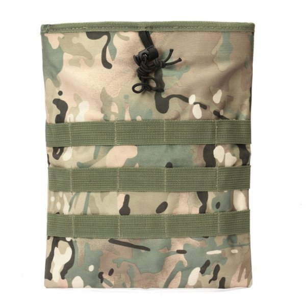 Molle Military Protable Utility Hunting Rifle Pouch Ammo Pouch Tactical Gun Magazine Dump Drop Reloader Hunting Bag New #257950
