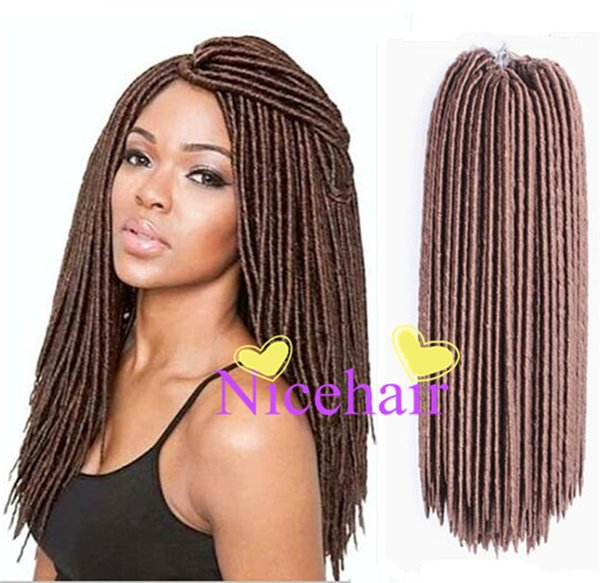 best selling Faux Locs Crochet Hair 24Roots Faux Locks Crochet Braid Marley Braids Faux Locs Crochet hair Extensions-2