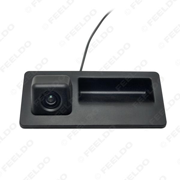top popular Car Rear View Parking Trunk Handle Camera For Audi A4L A5 S5 Q3 Q5 Passat Tiguan Golf Touran Jetta # 2068 2021