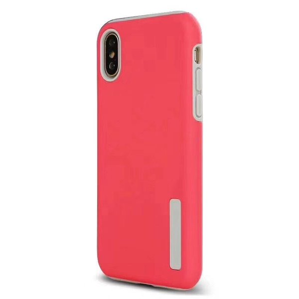 Dual Layer Matte Phone Protective Case Cover for Huawei Nova 3 3i Y5 Y6 Y9 2018 Honor 8x P Smart 2019 Shockproof Shell